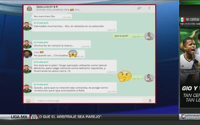 Humor: la conversación ficticia por chat entre Osorio y Gio dos Santos