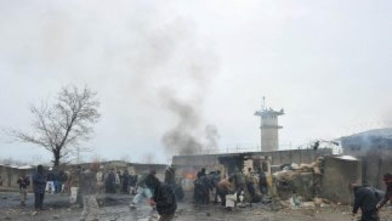 El gobierno afgano indicó que la policía rescató a 41 niños de entre 6 y...