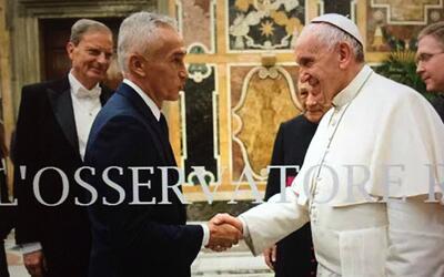 """Jorge Ramos al Papa Francisco: """"No se olvide de los inmigrantes que quie..."""