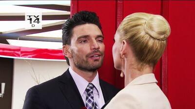 Ni trates de hablarle bonito a Sofía, Patricio, está que echa humo.