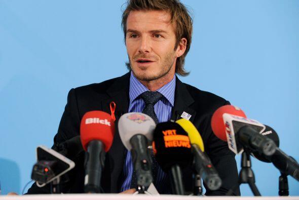 Con mucha clase, Beckham dejó bien claro que su país tiene todo para rea...