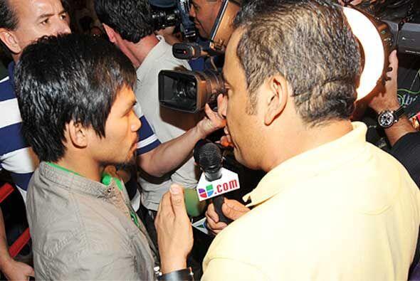 Rafa Brito 'El Alcalde', pronosticó un triunfo del filipino, pero...