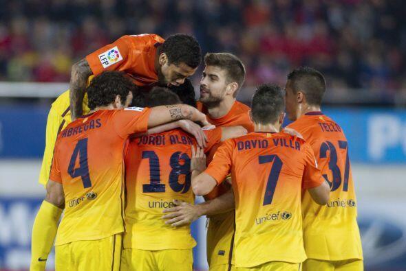 Lionel Messi puso el 2-0 antes de que acabara el primer tiempo.