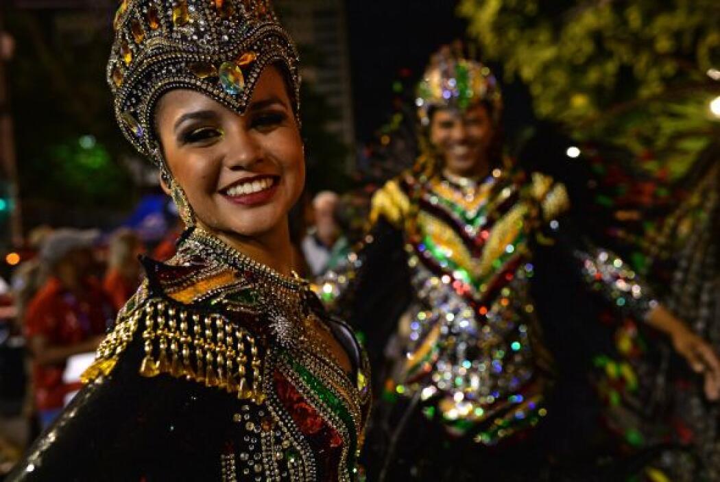 En Brasil, la agrupación Imperio da Tijuca, con una presentación en la q...