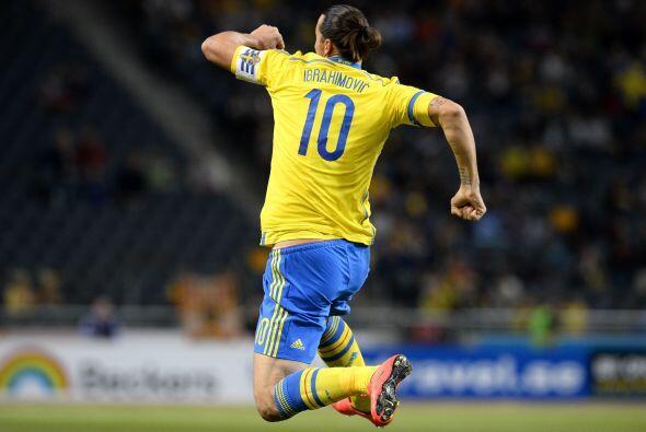 Zlatan Ibrahimovic tiene hambre de más goles pese a llegar a 50 para ser...