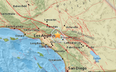 El sismo se sintió la tarde de este lunes.