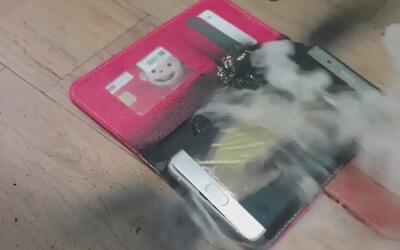 Samsung reconoció que aún no conocen las causas de las explosiones de lo...