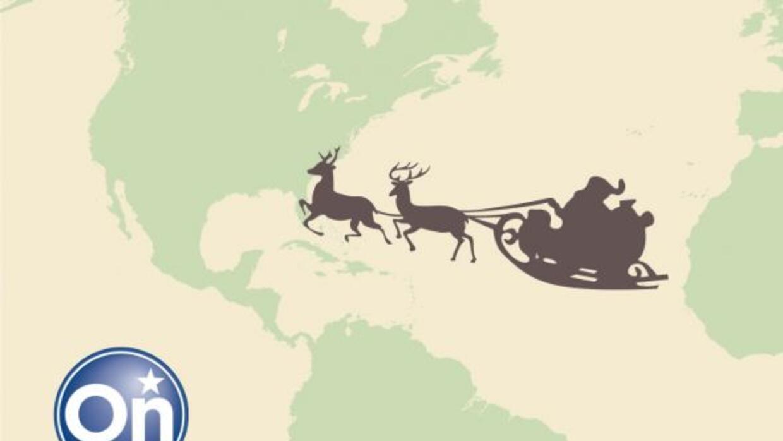 Los niños podrán seguir el recorrido de Santa Claus utilizando el sistem...