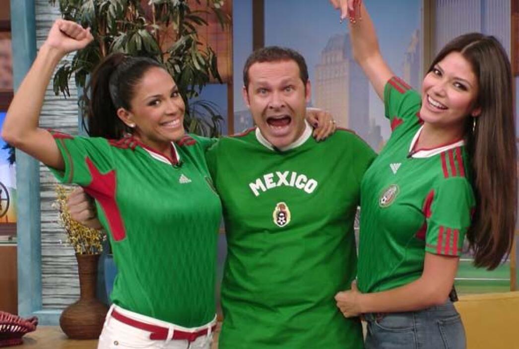 Despierta América se puso la verde para mostrar su apoyo a México en el...