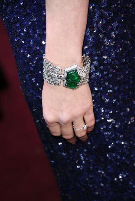 Usar esmeraldas como parte de tus accesorios elevará al máximo cualquier...