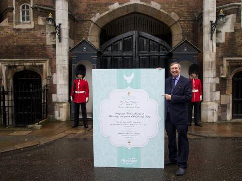 El príncipe George, el primer hijo de Kate Middleton y el pr&iacu...
