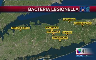 Bacteria Legionella en siete torres de enfriamiento