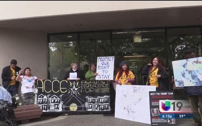 Protestan en contra de las altas rentas