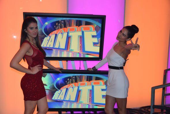 La belleza y sensualidad de Alejandra y Vanessa hacen que los caballeros...