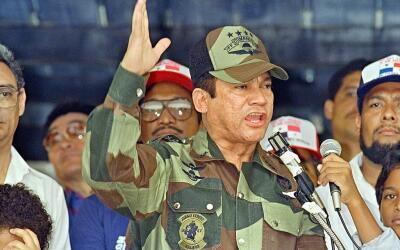 Sus métodos brutales para aplastar la democracia en Panamá...