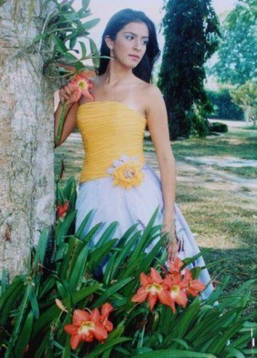 Belleza que por supuesto perduró durante su adolescencia.