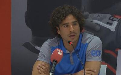 """Guillermo Ochoa: """"Estoy feliz porque mi prioridad era seguir en España"""""""