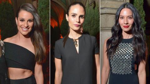 Lea Michele, Jordana Brewster, Olivia Munn y más famosos acudiero...