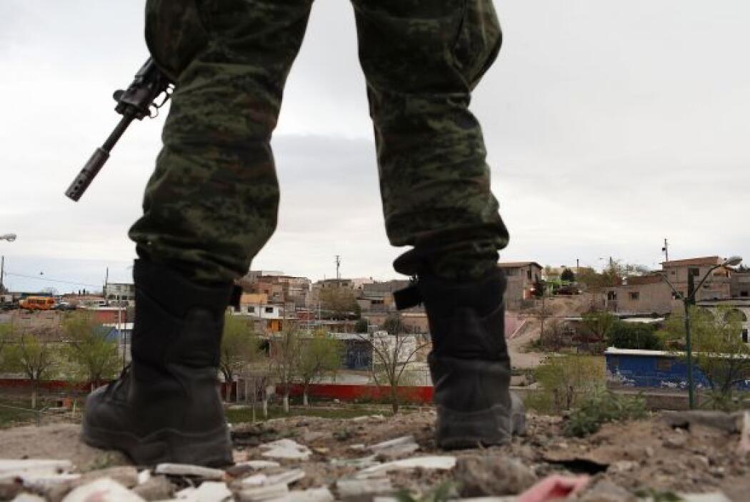 Ciudad Juárez se ha convertido en la Capital de la Muerte. Mucha gente s...