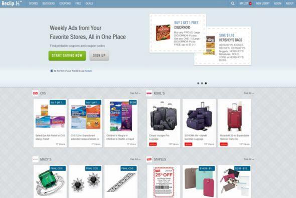 Reclip.It  Calificación de CR: Muy bueno para compartir ofertas.  Este s...