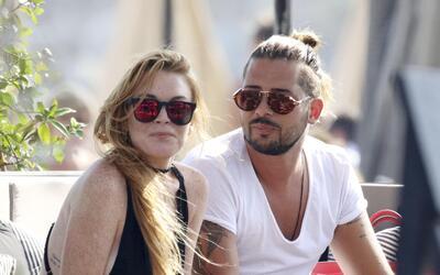 Lindsay y Dennis Papageorgiou en Grecia.