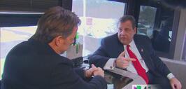 Chris Christie regresa a New Jersey tras primarias