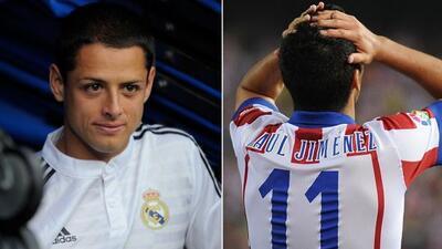 El jugador del Real Madrid festeja su doblete ante el Deportivo con su v...