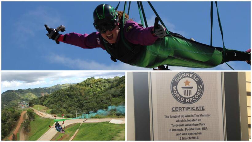 Zipline Puerto Rico El Monstruo