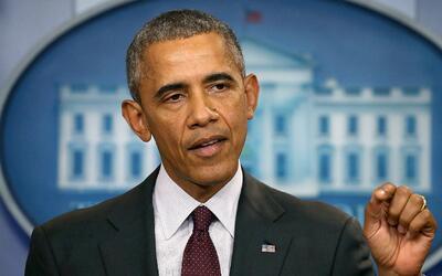 """Presidente Obama le pide a Donald Trump que deje de """"lloriquear"""" porlas..."""