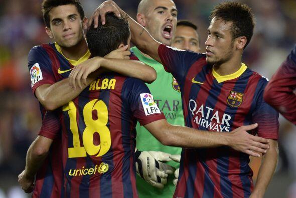 Pero el tiempo no alcanzó para algo más y el Barcelona log...