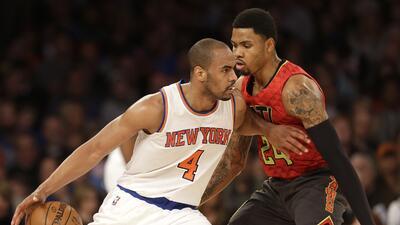 Los Knicks vencieron 111-97 a Atlanta