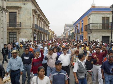 El sindicato disidente de maestros en México que realizó u...