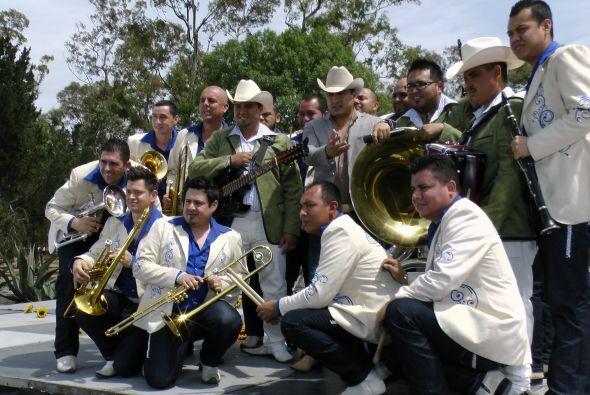 Julión Álvarez y su banda.