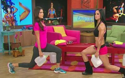 Haz ejercicios con Miss Bikini México