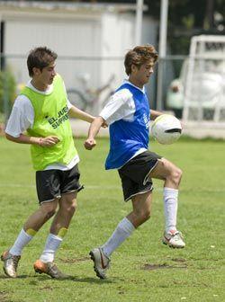 Los muchachos buscaron demostrar que merecían estar entre los 15...