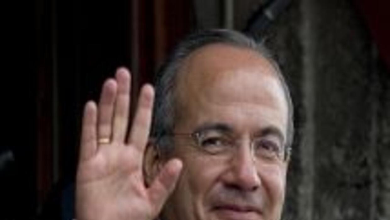 El presidente meixcano Felipe Calderón.