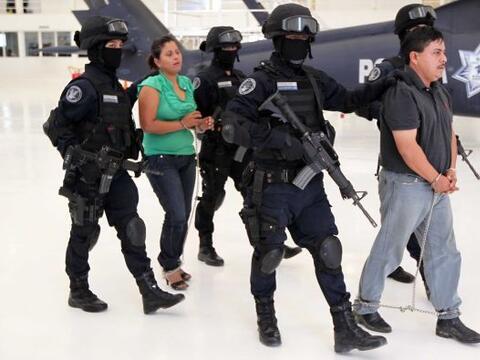 El gobierno de México asestó dos  fuertes golpes al c&aacu...
