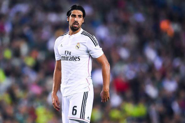 Por si fuera poco Sami Khedira salió lesionado del partido ante l...