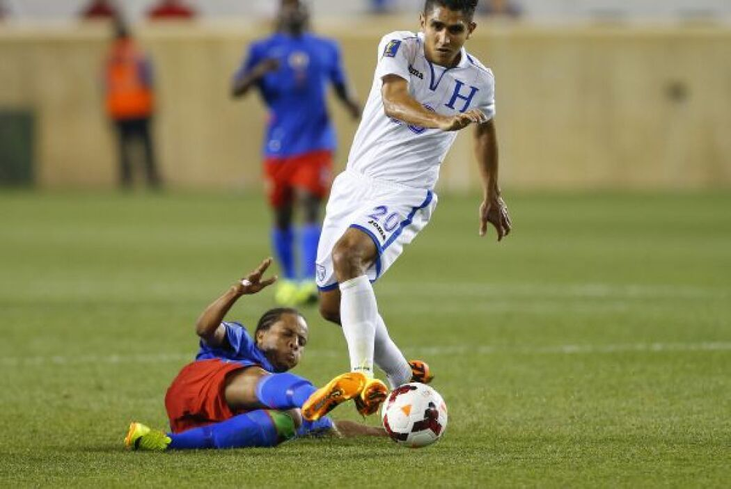 Honduras fue otro equipo de juego colectivo, con altas y bajas en su s p...