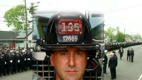 'Nueva York en un Minuto': este jueves realizan entierro de bombero que...