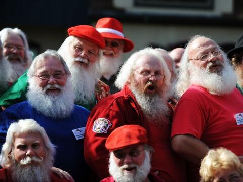 ¿Dónde aprendió Santa Claus a decir ¡Jo, jo,...