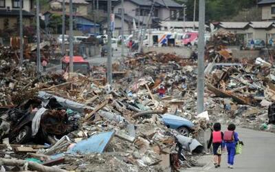 A dos meses del devastador terremoto de 9 grados en la escala de Richter...