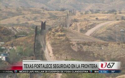 Aumento de seguridad en la frontera de Texas