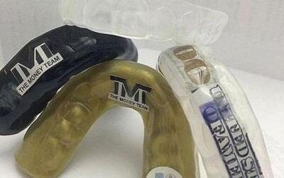 Los protectores bucales de Mayweather Jr. cuestan 25 mil dólares, tiene...
