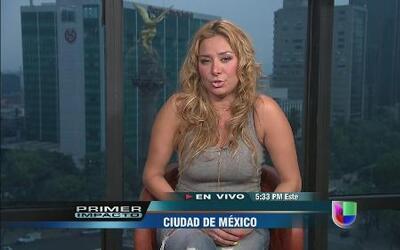 Cristina Eustace aclaró si hay o no romance con Esteban Loaiza