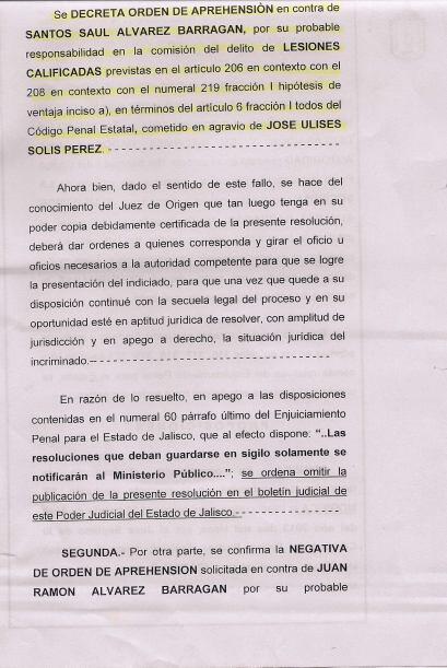 Solís y su abogado dieron a conocer que 'Canelo' tenía una orden de apre...
