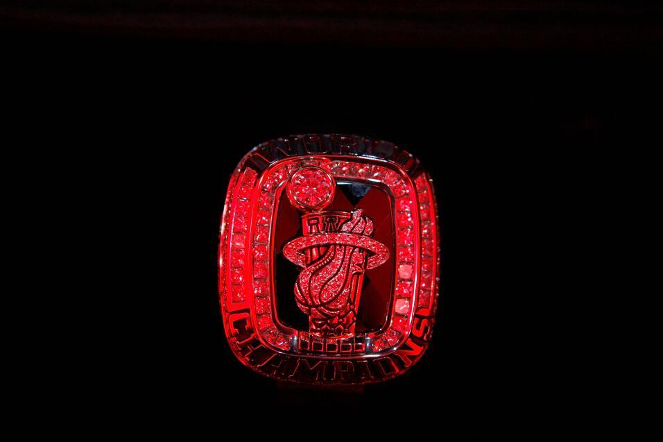 El anillo de campeón de los Miami Heat del 2012.