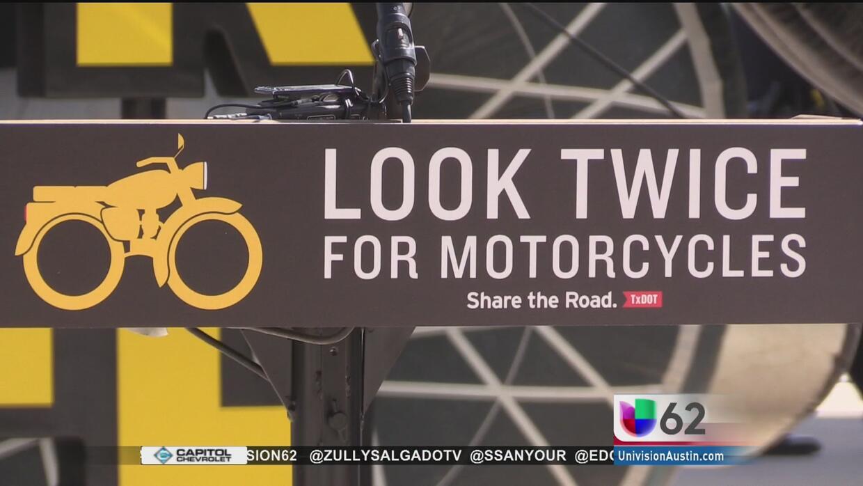 Autoridades lanzan una campaña para evitar accidentes viales que involuc...