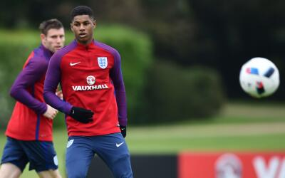 Inglaterra llamó a Rashford para la Euro
