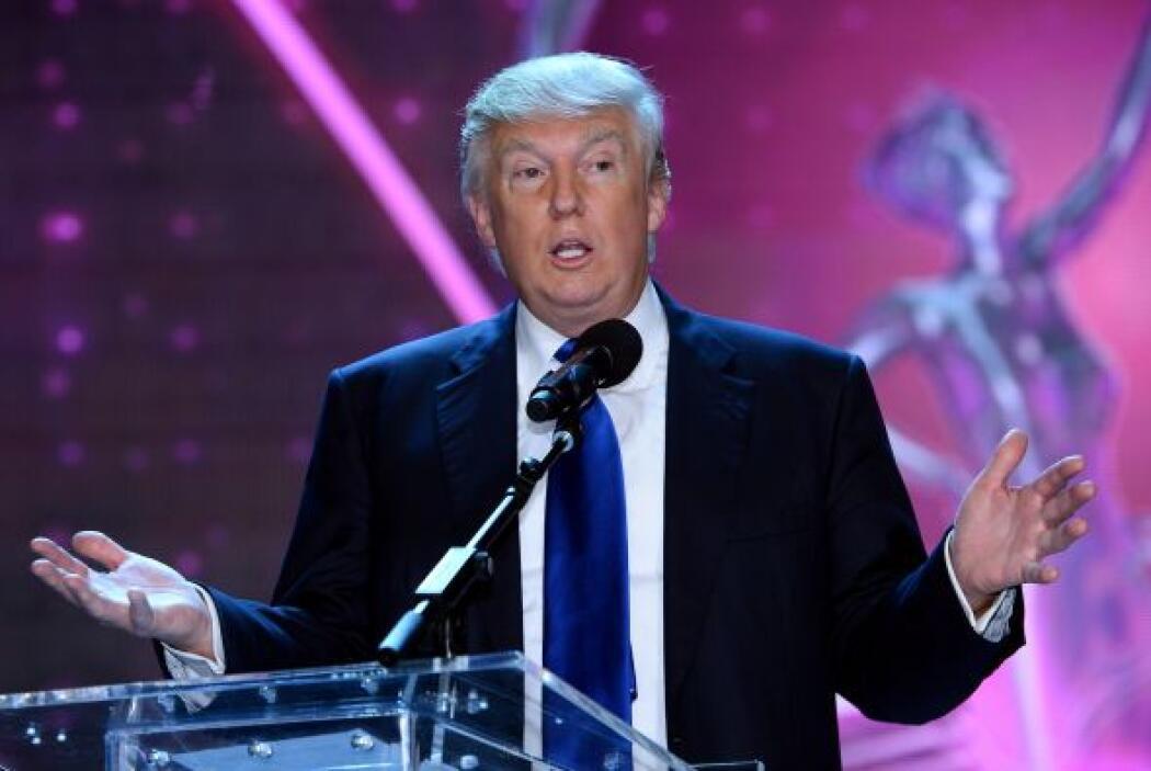 30. Donald Trump  Ganancias netas: $63 millones.  Presencia en radio y t...